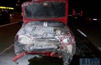 В Киеве в ДТП погиб водитель, его беременная пассажирка госпитализирована