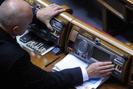 В четверг Рада будет голосовать за выборы в 2012 году