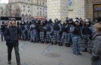 Міліція посилила охорону в районі Вищого спецсуду