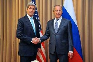 Керри призвал Лаврова немедленно выполнить мирные договоренности