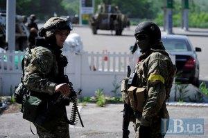 Военные вошли в Рубежное, боевики остаются только у одного выезда из города