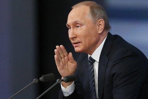 Путін непривітав Порошенка і Ердогана зНовим роком