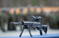 Турчинов передал партию экспериментальных винтовок снайперам Нацгвардии