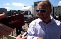Хмельницких журналистов не пустили к Яценюку и Тягнибоку