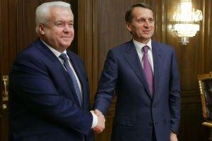 Экс-регионал Олийнык пожаловался Нарышкину на неравные условия для участия в выборах