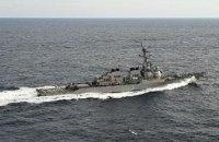 Американский эсминец Porter вошел в Черное море