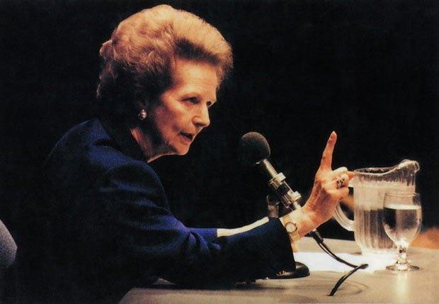 Маргарет Тетчер передчувала домінуючу роль Німеччини у Європі
