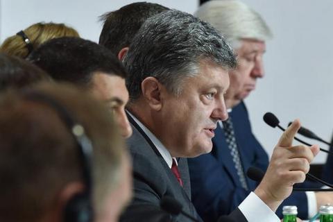 Порошенко хоче провести місцеві вибори навсіх підконтрольних територіях Донбасу