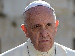 МИД поблагодарил Папу Римского Франциска за акцию в поддержку украинцев