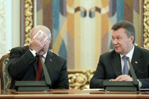 "Лукашенко о Януковиче: ""Ну какой он Президент?"""