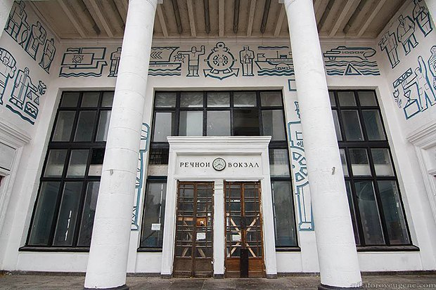 Культурні активісти просять внести київський Річковий вокзал до списку пам'яток культури (фото)