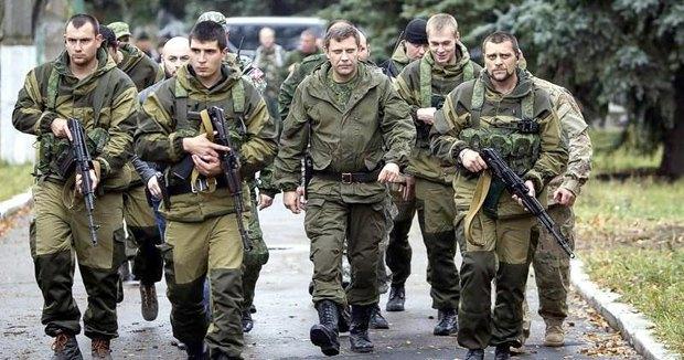 Захарченко с боевиками в русской ГОРКЕ