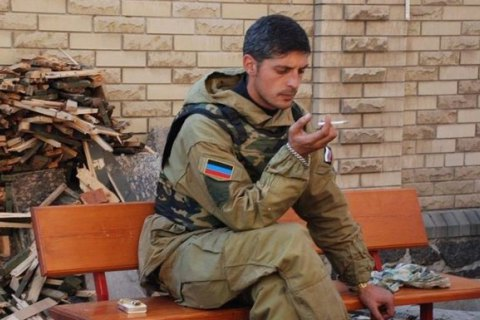 Дело «днровского» боевика Гиви отправили всуд