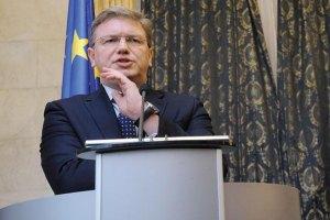 Фюле: Києву необхідно скоріше виконати вимоги ЄС щодо інтеграції
