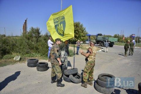 Помер один зучасників блокади Криму