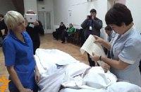 В больнице Тимошенко медперсонал помогал пациентам ставить галочку