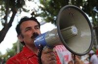 В Херсоне проходит акция в поддержку Тимошенко