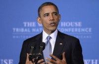 """Санкции против России должны сохраняться до выполнения """"Минска-2"""", - Обама"""