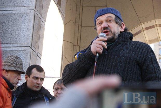 Владислав Троицкий на Евромайдане