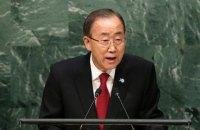 Пан Ги Мун объявил всемирное перемирие на время Олимпиады