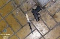 Виновник ДТП устроил стрельбу в центре Одессы