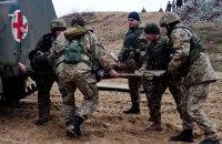 В Днепр привезли более 20 раненых в выходные военных