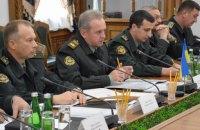 Муженко заявил об обстрелах в местах разведения сил в зоне АТО