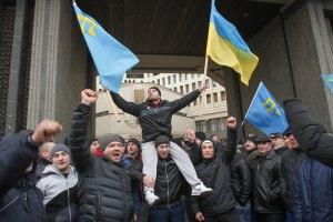 За участие в проукраинском митинге задержан еще один крымский татарин