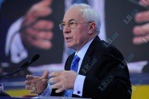 Азаров рассказал Эштон о реформах в Украине