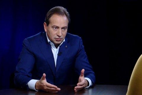 Томенко: власть не прошла испытание выборами