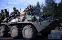 В Нацгвардии опровергли слухи о захвате боевиками украинского БТРа с экипажем