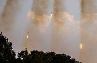 Подразделения сил АТО за ночь обстреливали 9 раз