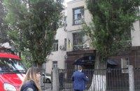 Бойцы спецназа украли ноутбук в горевшем Соломенском суде