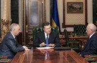 Янукович поторопил Рыбака и Азарова с принятием бюджета