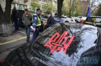 Милиция Киевской области расследует драку на Бориспольской трассе