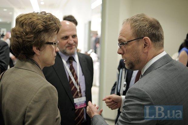 Яна Зикмундова, посол Бельгии в Украине и Сергей Власенко