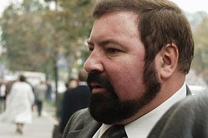 Депутата Черноволенко вытолкали из Печерского суда