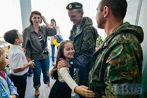 Бойцы 72-ой бригады провели урок мужества в киевской школе