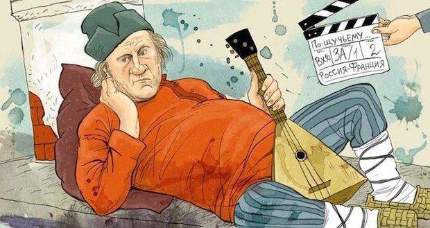 Українці обурюються вчинком Жерара Депардьє, проте вони не мають на це жодного права