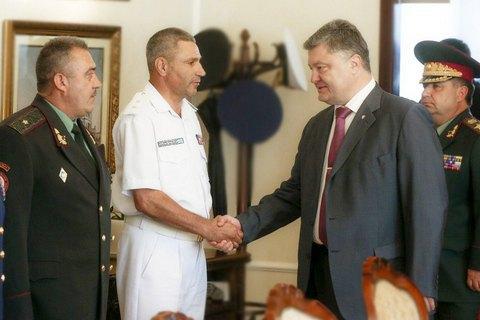 Порошенко назначил Воронченко командующим ВМС Украины