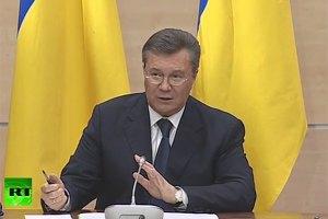 Меня пугали российским спецназом, - Янукович
