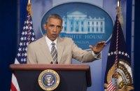 Обама заявил о необходимости решить конфликт в Украине