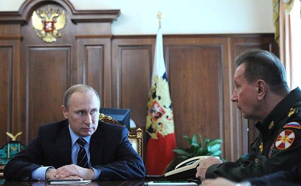 Бывший охранник Путина Виктор Золотов