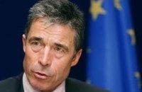 Расмуссен: двери НАТО открыты для Украины