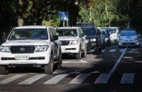 На подконтрольной Украине территории обстреляли конвой ОБСЕ