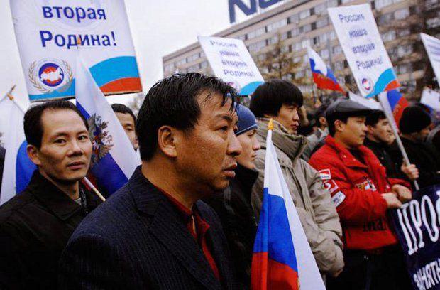 Россия превращается в большой плавильный котел. Когда-то так начинали США