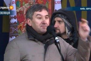 """Выступивший на Вече """"регионал"""" обвинил оппозицию в провокации"""