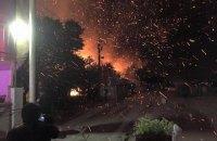 В Одессе сожгли кафе