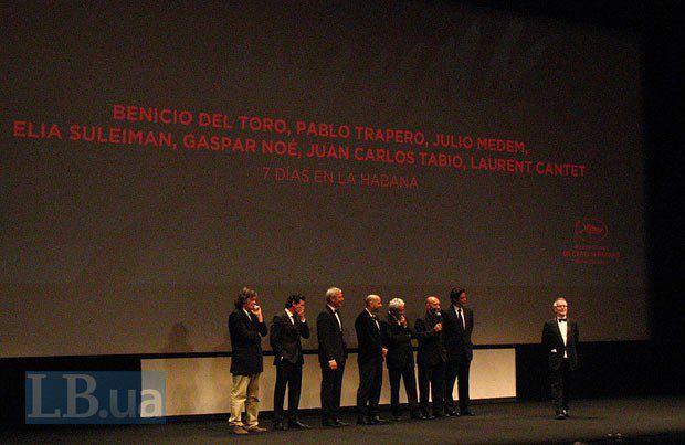 А это все вместе. Кустурица, Медем, Лоран Канте, Пабло Траперо, Элиа Сулейман, Гаспар Ноэ, Бенисио дель Торо