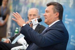 """Янукович посетит открытие """"Олимпийского"""""""